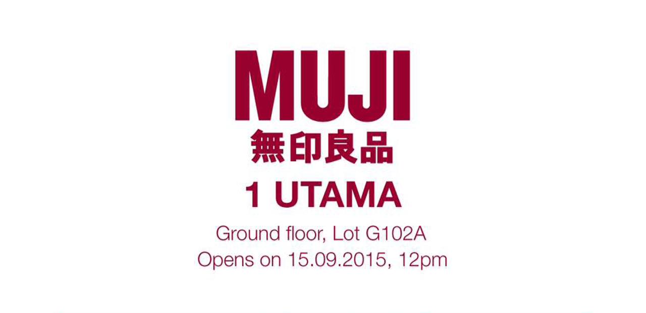 Muji S New Store Opening At 1 Utama Shopping Centre On