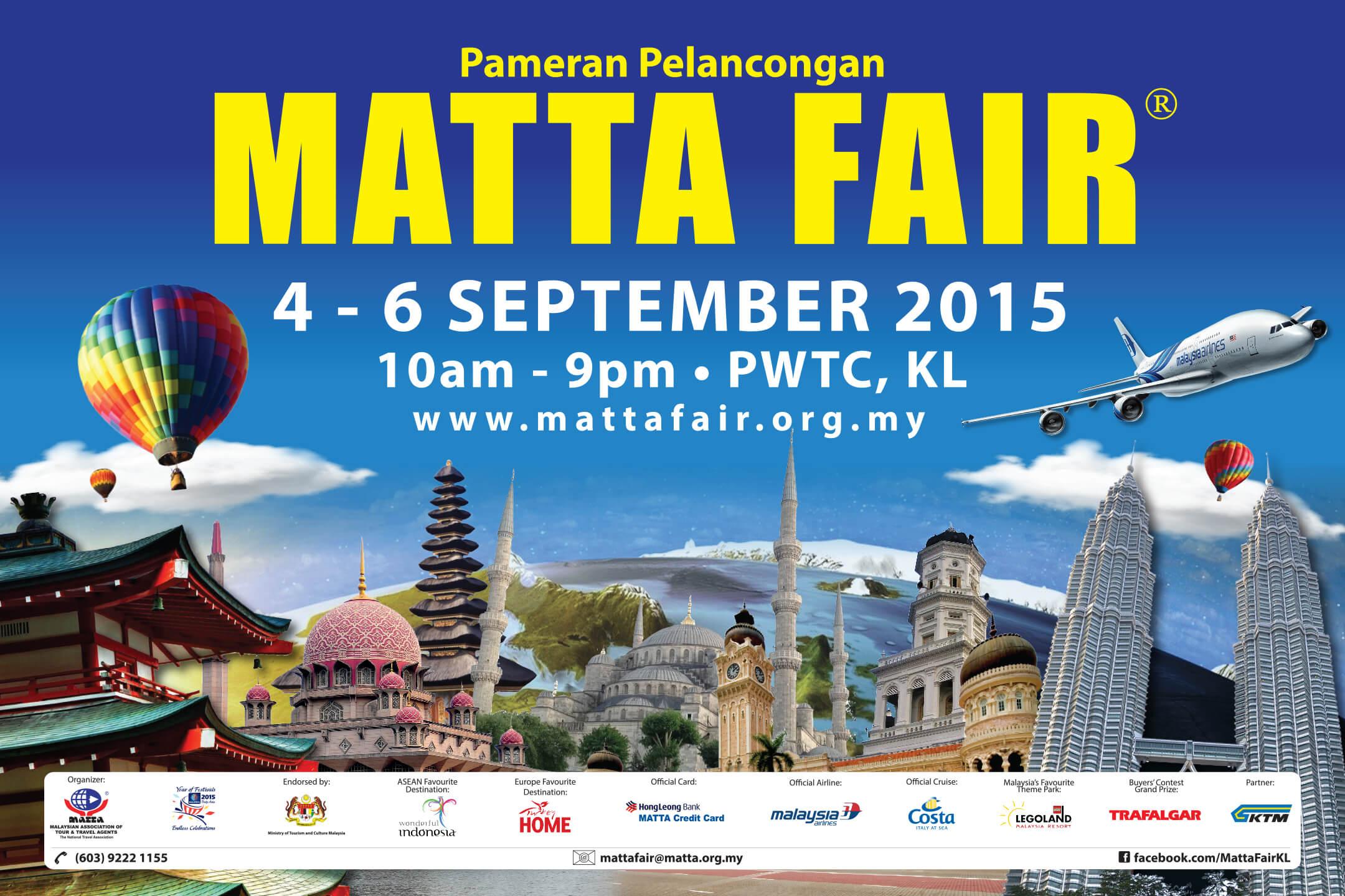 Countdown to MATTA Fair 2015 Sept 4 6 at PWTC KL PamperMy