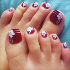 Nail art designs for your toes pamper stripes cover prinsesfo Choice Image