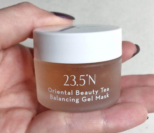 23.5°N Oriental Beauty Tea Balancing Gel Mask Review