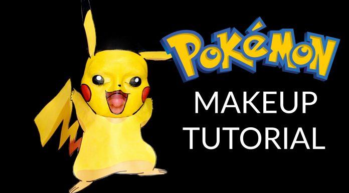 Chrisspy Pikachu Makeup