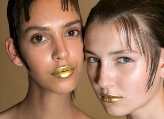 How to Flawlessly Pull off Metallic Lipstick
