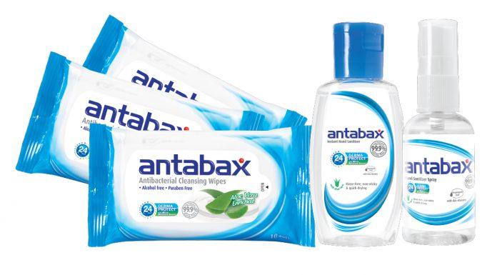 It's Ready, Set, GO! with Antabax Sanitizing Range
