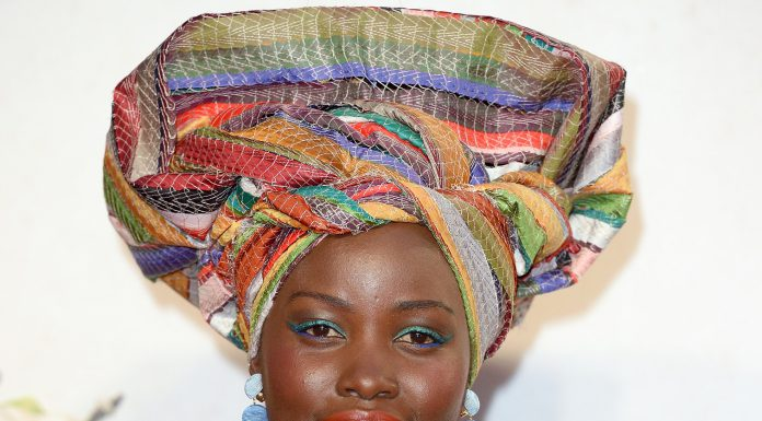 Red Carpet Makeup Report: Lancome's Ambassadress, Lupita Nyong'O At The Queen of Katwe London Film Festival Premiere