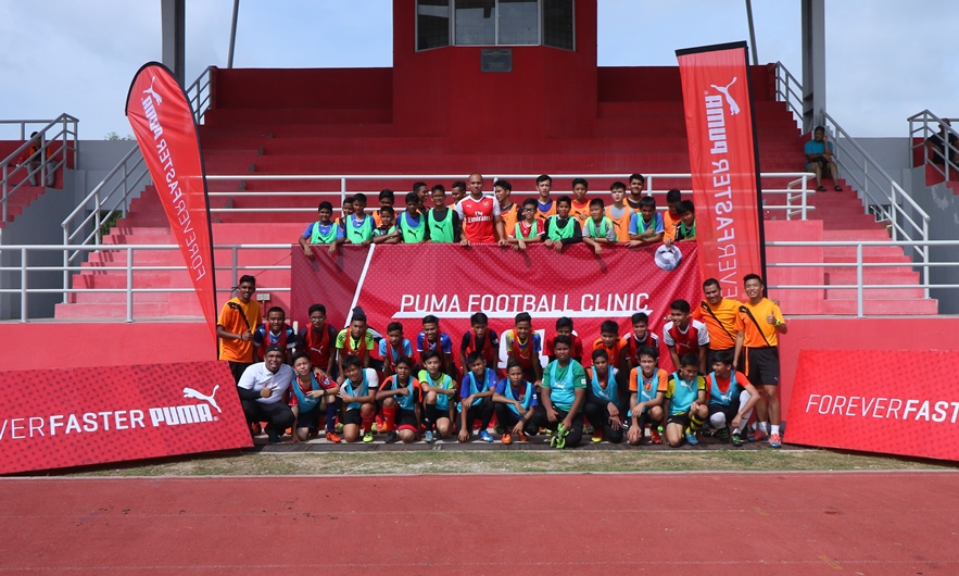 PUMA Malaysia s Football Coaching Clinic Inspire the Youth to Chase Dream  of Playing Football 8a19b5f00183