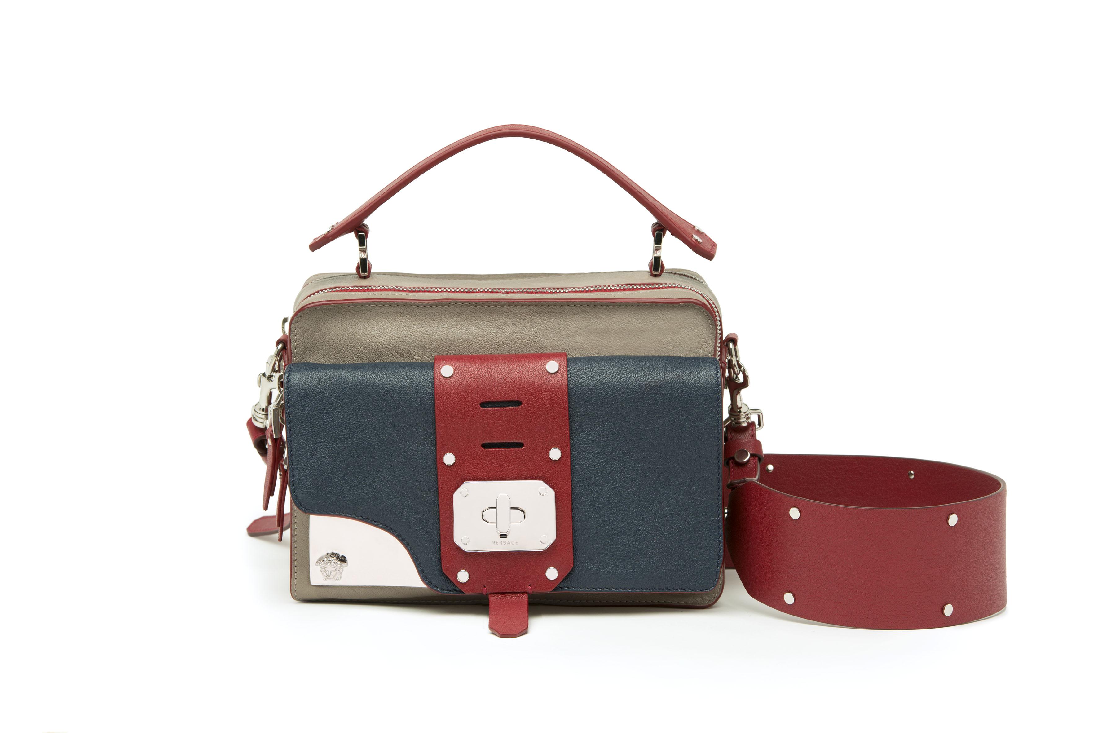 ... Small Signature Bag Yellow 85266  online retailer 065cb 115fe Versace  Stardvst - Pamper. 048812d52d556
