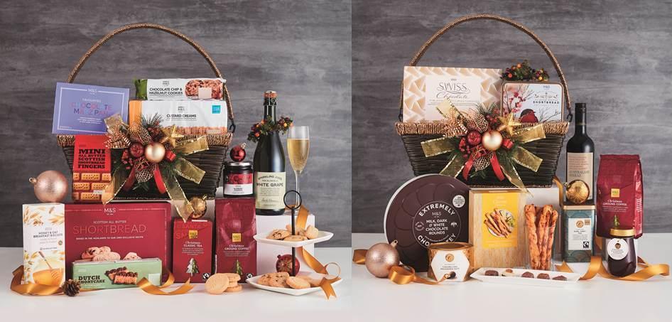 marks and spencers gift baskets gift ftempo. Black Bedroom Furniture Sets. Home Design Ideas