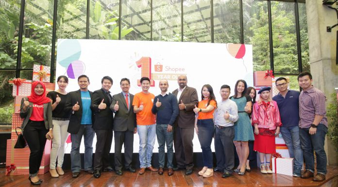 Shopee Celebrates 1st Anniversary with USD 1.8 billion Annualized GMV and 25 Million Downloads - Pamper.My