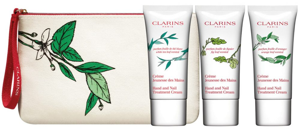 Clarins Limited Edition Hand and Nail Treatment Cream Collection - Pamper.My