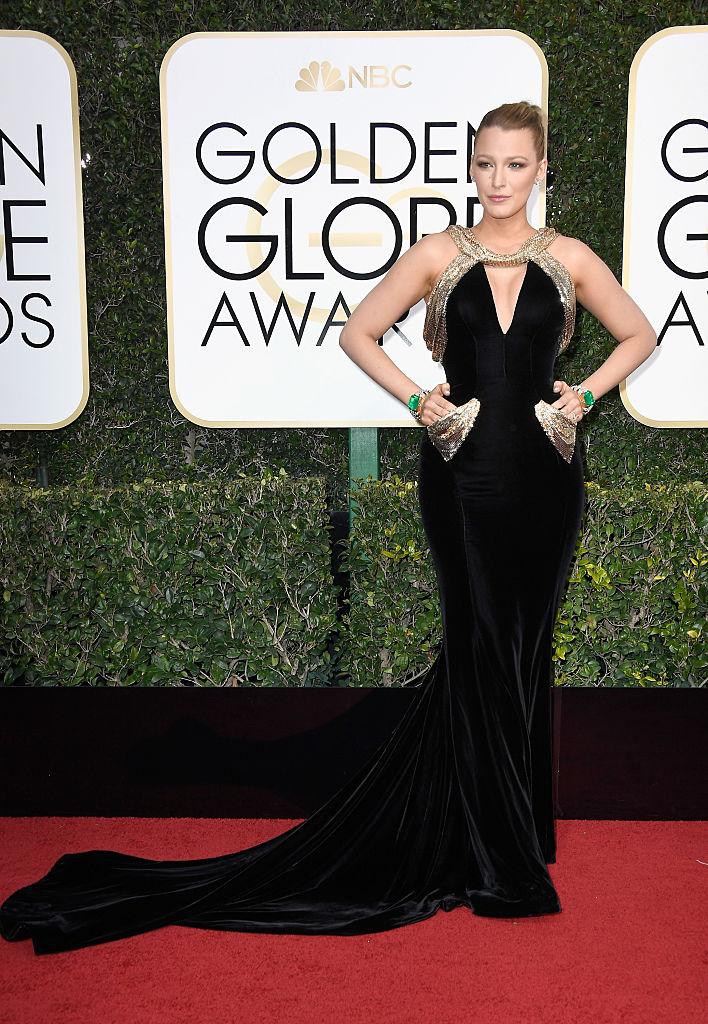 Golden Globes 2017: Best Dressed Stars, Blake Lively - Pamper.My