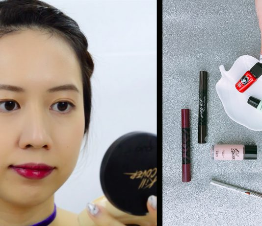 Clio and Peripera Products Review - K-Beauty Look Tutorial