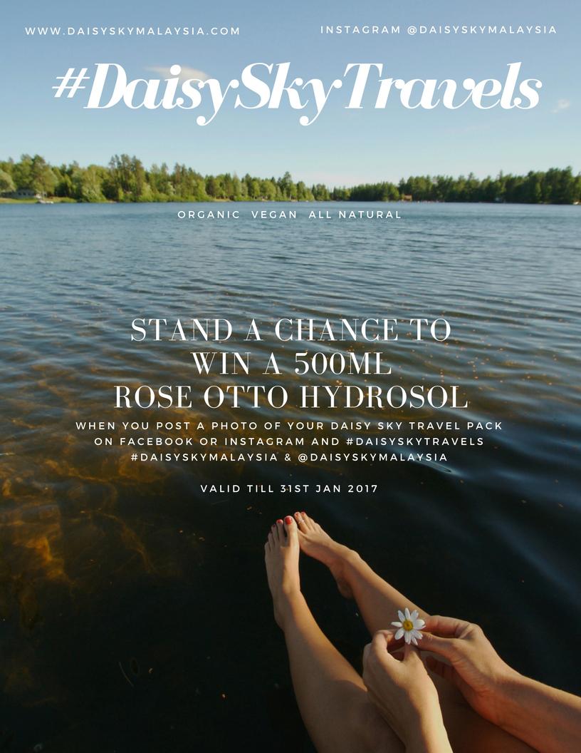 Daisy Sky Malaysia Bulgarian Rose Otto Hydrosol Contest - Pamper.My