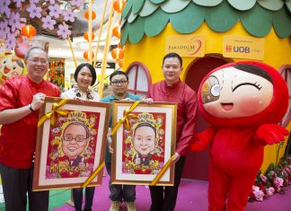 Pocotee & Friends Spreads Chinese New Year Joy at Paradigm Mall - Pamper.My