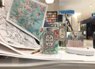 The Rosa Mundi Collection, A Meeting Between Diptyque & Antoinette Poisson - Pamper.My