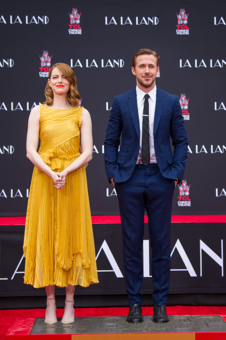 5dc8dfc1e932 The Red Carpet Look That Inspired Emma Stone s  La La Land  Dress ...