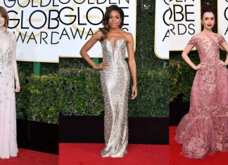 Golden Globes 2017: Best Dressed Stars - Pamper.My