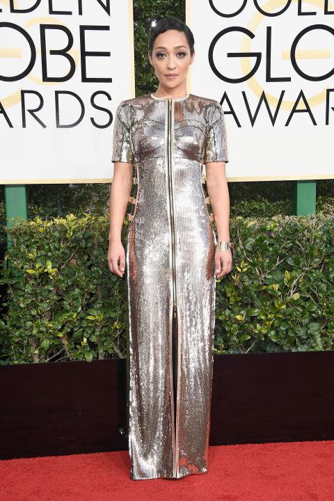 Golden Globes 2017: Best Dressed Stars, Ruth Negga - Pamper.My