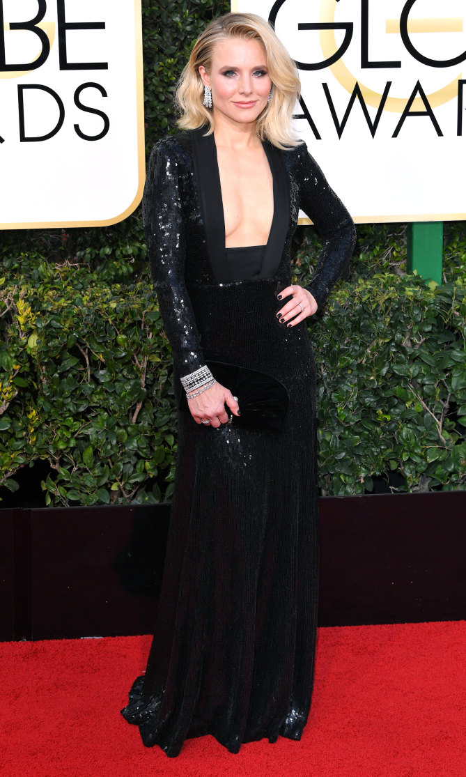 Golden Globes 2017: Best Dressed Stars, Kirsten Bell - Pamper.My