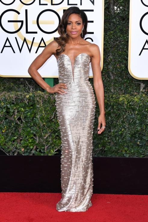 Golden Globes 2017: Best Dressed Stars, Naomie Harris - Pamper.My