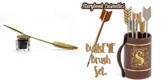 Storybook Cosmetics Caught Our Eyes With Its Quill and Ink Liner And BullsEYE Brush Set - Pamper.My