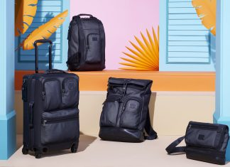 New TUMI Alpha Bravo Reflective Assortment Brings An Edgy Silver Luminescence Athleisure Style-Pamper.my