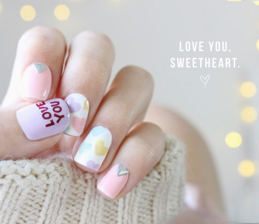 7 Valentine's Day Nail Art Ideas To Spread The Love-Pamper.my