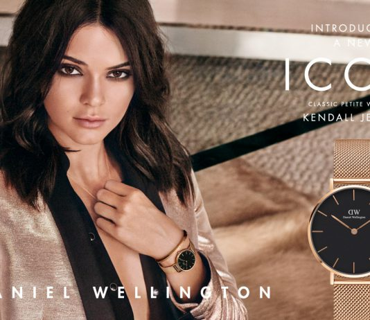 Kendall Jenner Embodies The Modern Icon In Daniel Wellington Classic Petite Collection-Pamper.my