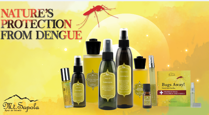Fight Dengue and Zika With Mt. Sapola's Nature's Insect Repellent Solutions, Bugs Away-Pamper.my