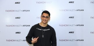 Afgansyah Reza's Clothing Line, Arez Co. Is Now Available At FashionValet-Pamper.my