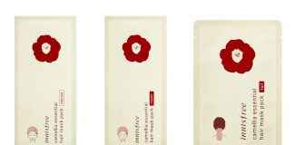 Treat Your Tresses At Home With The innisfree Camellia Essential Hair Mask Series-Pamper.my