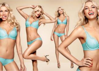 Bikini girls and ads