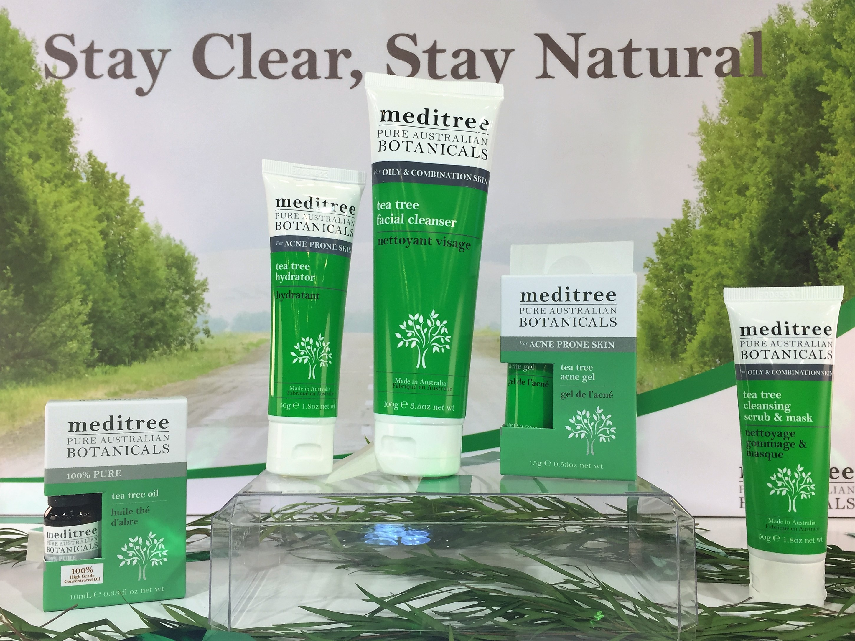 Clear Blemishes The Natural Way With Meditree Tea Tree ...