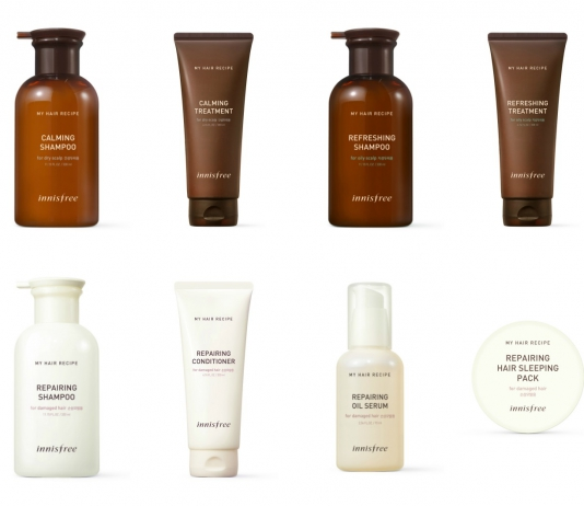 innisfree My Hair Recipe Line Is Here To Bring Life Back To Your Hair-Pamper.my