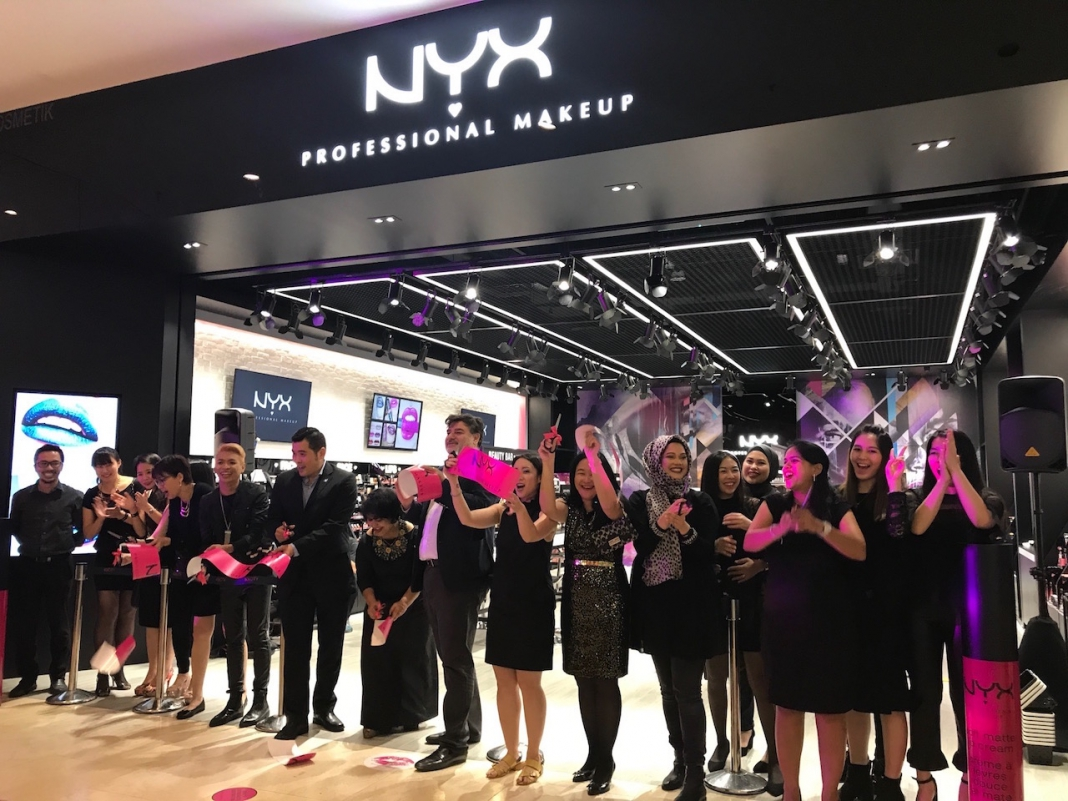 Nyx Professional Makeup Opened First Flagship Store In Malaysia At Ioi City Mall Pamper My