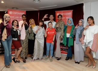 #Scenes: Carousell Waste To Wear Fashion Workshop With Min Luna-Pamper.my