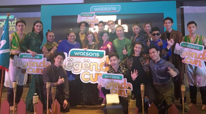 "#Scenes: Watsons Malaysia Launches Its Hari Raya Epic Digital Movie, ""Legenda Cun"" -Pamper.my"