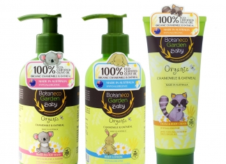 Give Your Baby The Best TLC With Botaneco Garden Baby Organic Chamomile & Oatmeal Range-Pamper.my