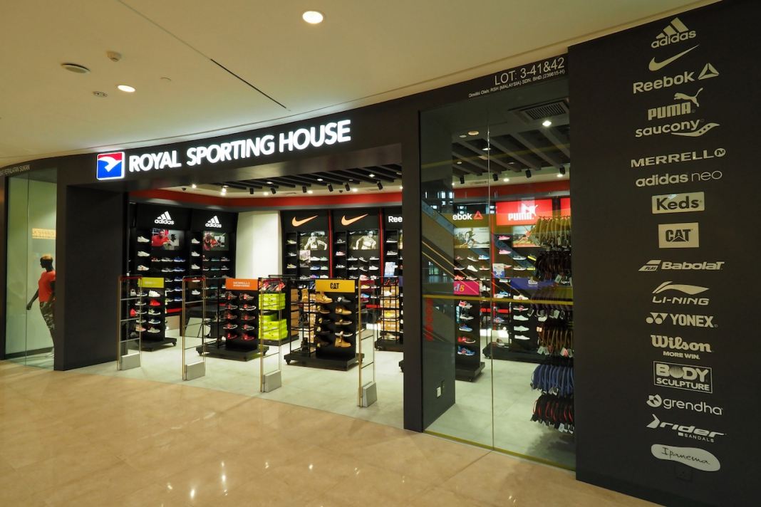 79f1419b62269f Royal Sporting House Opened New Store at Sunway Velocity Mall ...