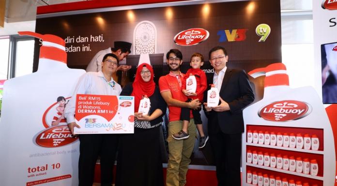 Lifebuoy Encourages Malaysians To Step Up On Hygiene During Ramadan With Its 'Sucikan Diri dan Hati, Ramadan Ini' Campaign-Pamper.my