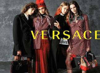 Versace's Fall Winter 2017 Campaign Brings Unity and Love-Pamper.my