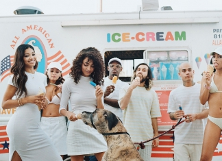 """GUESS Originals X ASAP Rocky Brings A Pastel Summer With The """"Ice Cream and Cotton Candy"""" Collection-Pamper.my"""