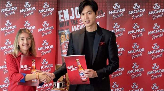 Lee Min Ho Becomes Ambassador Of Anchor Beer Cambodia-Pamper.my