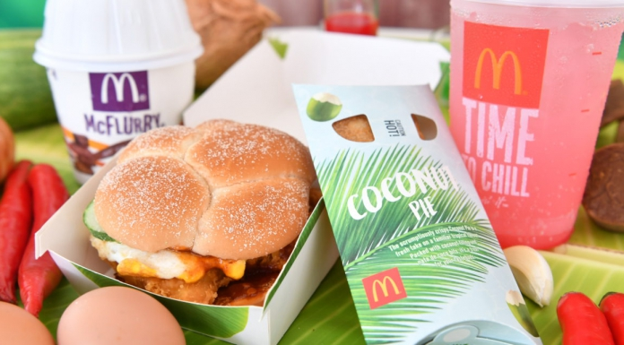 McDonald's Singapore Releases The Nasi Lemak Burger And Chendol McFlurry