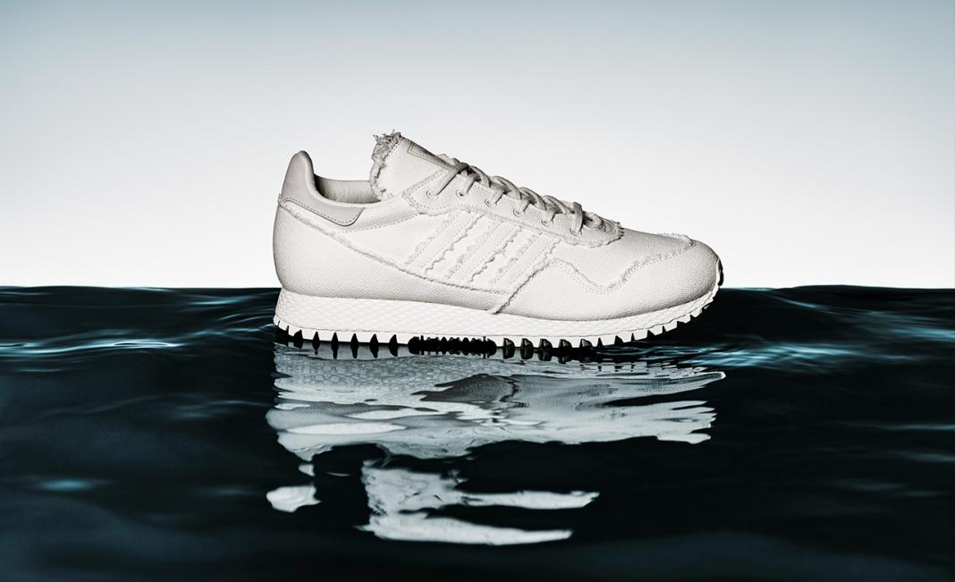 more photos 47037 7f914 Daniel Arsham x adidas Originals Revamped New York Sneaker Conceals A  Secret Message