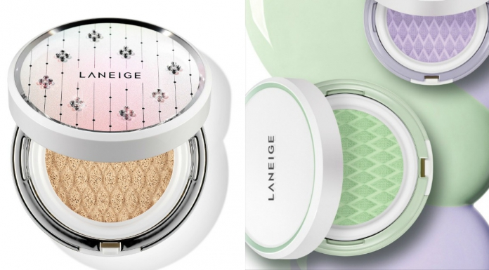 Sparkle From Your Skin To Your Cushion With LANEIGE Skin Veil Base Cushion and Swarovski BB Cushion-Pamper.my