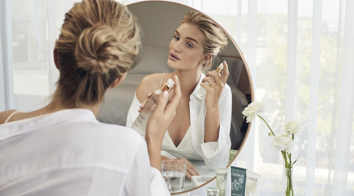 Caudalie Taps Rosie Huntington-Whiteley As Its Ambassador For The Iconic Beauty Elixir-Pamper.my