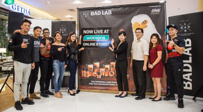 ONE Championship Athletes Launches Bad Lab's Brand Page On Watsons Online Store-Pamper.my