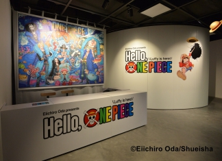 "Meet Luffy And His Crew At The ""Eiichiro Oda presents Hello, ONE PIECE Luffy is here!"" Happening Now To 18 October 2017!-Pamper.my"