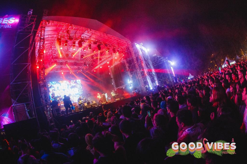 Festival muzikal Good Vibes 2017 Tetap Meriah Walau Dalam Hujan