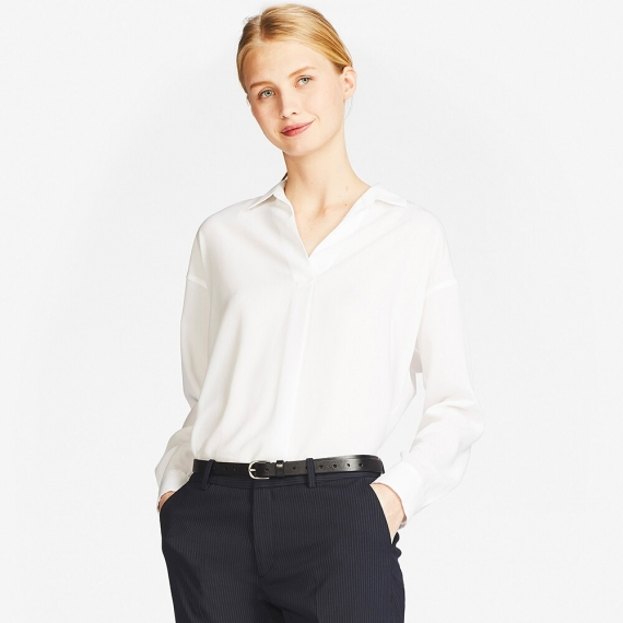 215f0aca05e7a Getting Tired Of Your Work Attire  5 Work Appropriate Blouses ...